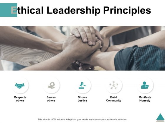 Ethical Leadership Principles Ppt PowerPoint Presentation File Example