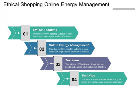 Ethical Shopping Online Energy Management Ppt PowerPoint Presentation Visual Aids Infographics