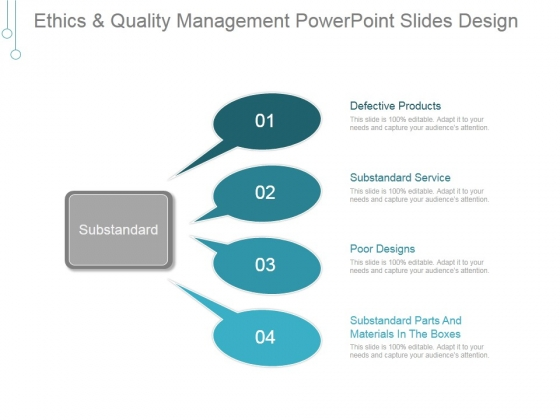 Ethics And Quality Management Ppt PowerPoint Presentation Themes