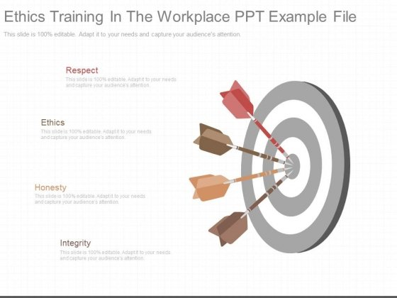 Ethics Training In The Workplace Ppt Example File