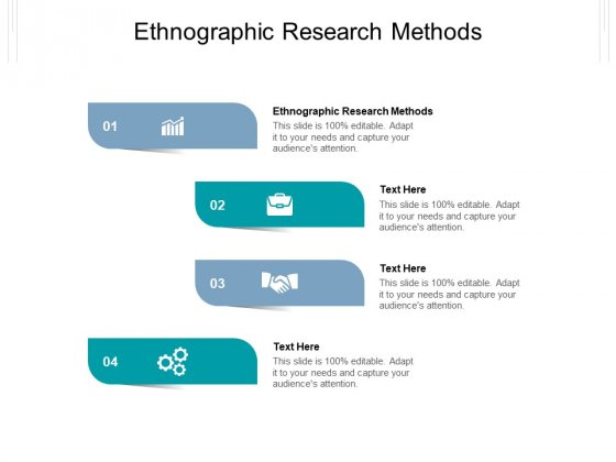 Ethnographic Research Methods Ppt PowerPoint Presentation Icon Guide Cpb Pdf