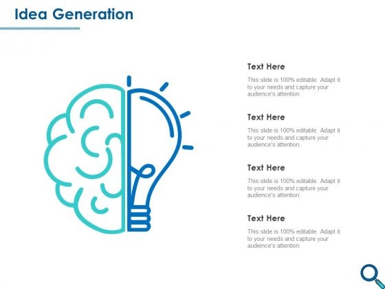Evaluating Competitive Marketing Effectiveness Idea Generation Ppt Gallery Brochure PDF