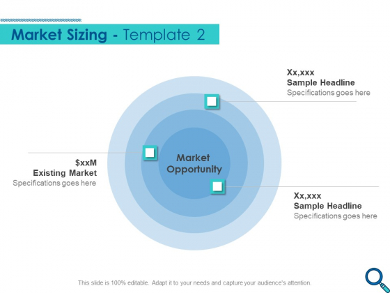 Evaluating Competitive Marketing Effectiveness Market Sizing Opportunity Pictures PDF