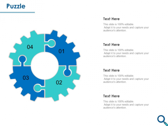 Evaluating Competitive Marketing Effectiveness Puzzle Ppt Infographic Template Files PDF