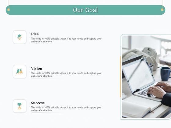 Evaluating Strategic Governance Maturity Model Our Goal Ppt Styles Slide Portrait PDF
