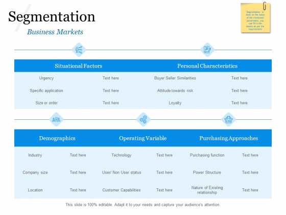 Evaluating Target Market Segments Segmentation Approaches Ppt Layouts Information PDF