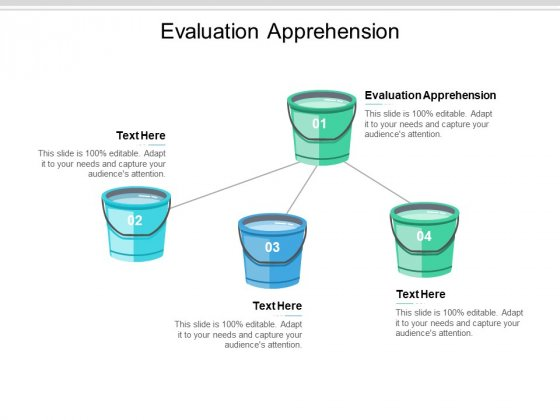 Evaluation Apprehension Ppt PowerPoint Presentation Ideas Background Image Cpb
