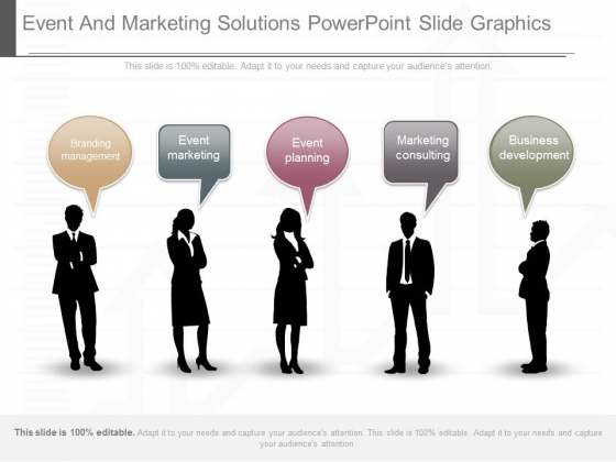 Event And Marketing Solutions Powerpoint Slide Graphics