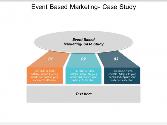 Event Based Marketing Case Study Ppt PowerPoint Presentation Infographic Template Slide Cpb