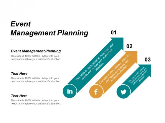 Event Management Planning Ppt PowerPoint Presentation Summary Demonstration Cpb