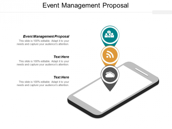 Event Management Proposal Ppt PowerPoint Presentation Professional Vector Cpb
