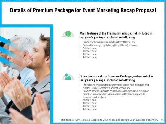 Event_Marketing_Recap_Proposal_Ppt_PowerPoint_Presentation_Complete_Deck_With_Slides_Slide_14