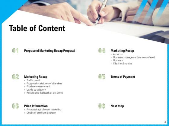 Event_Marketing_Recap_Proposal_Ppt_PowerPoint_Presentation_Complete_Deck_With_Slides_Slide_3