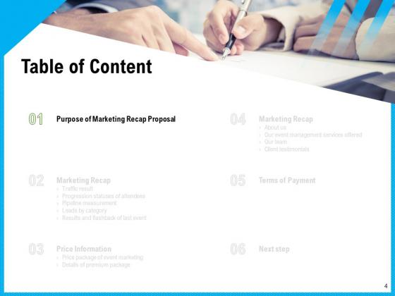 Event_Marketing_Recap_Proposal_Ppt_PowerPoint_Presentation_Complete_Deck_With_Slides_Slide_4