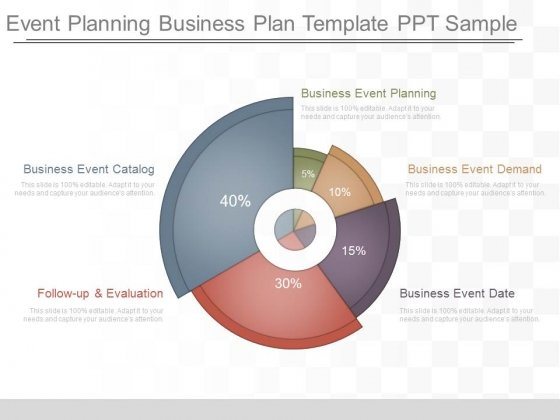 Event Planning Business Plan Template Ppt Sample PowerPoint - Powerpoint business plan template