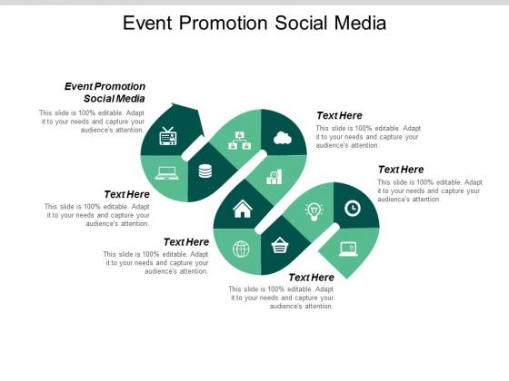 Event Promotion Social Media Ppt PowerPoint Presentation Diagram Templates Cpb