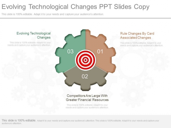 Evolving Technological Changes Ppt Slides Copy
