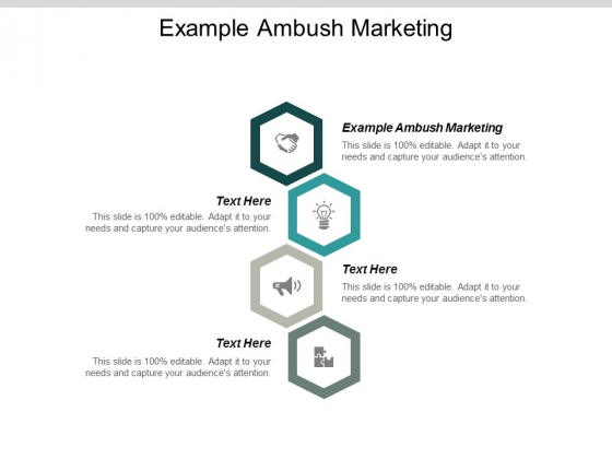Example Ambush Marketing Ppt Powerpoint Presentation Icon Background Cpb
