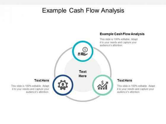 Example Cash Flow Analysis Ppt PowerPoint Presentation Portfolio Demonstration Cpb