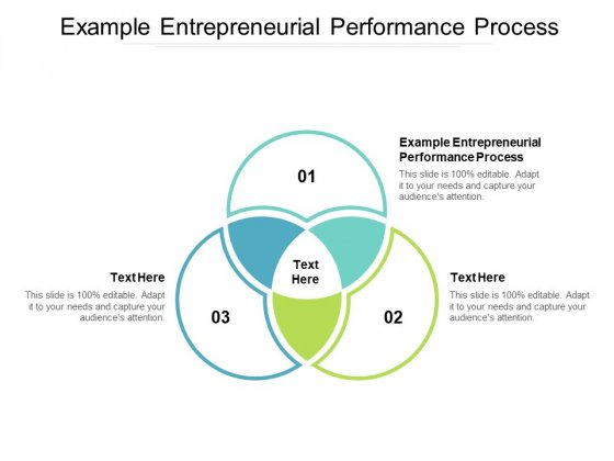 Example Entrepreneurial Performance Process Ppt PowerPoint Presentation Gallery Format Ideas Cpb