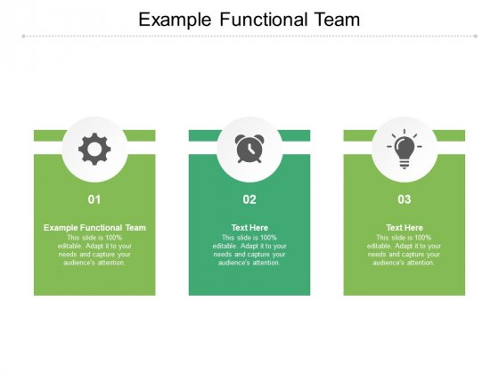 Example Functional Team Ppt PowerPoint Presentation Slides Summary Cpb