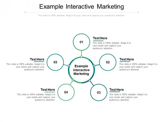 Example Interactive Marketing Ppt PowerPoint Presentation Outline Templates Cpb