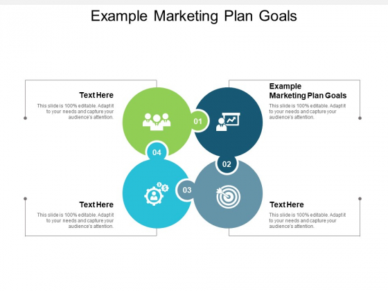 Example Marketing Plan Goals Ppt PowerPoint Presentation Model Aids Cpb