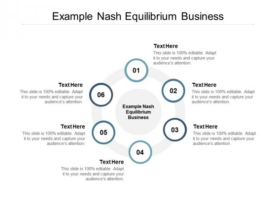Example Nash Equilibrium Business Ppt PowerPoint Presentation Portfolio Introduction