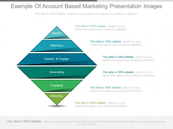 Example Of Account Based Marketing Presentation Images