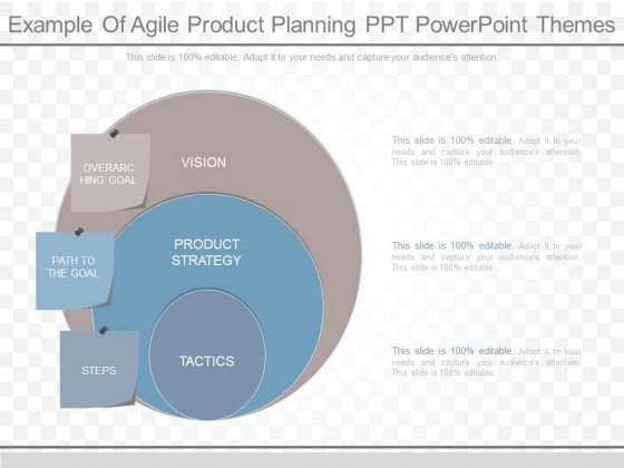 Example Of Agile Product Planning Ppt Powerpoint Themes