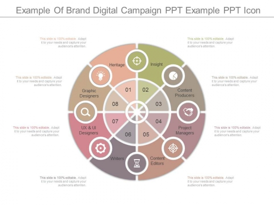 Example Of Brand Digital Campaign Ppt Example Ppt Icon