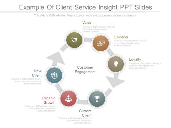 Example Of Client Service Insight Ppt Slides