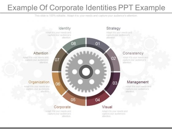 Example Of Corporate Identities Ppt Example