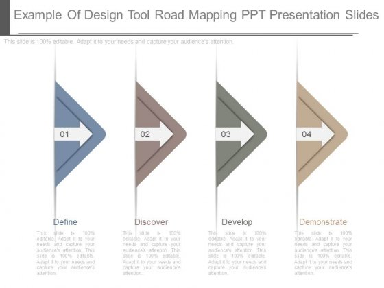 Example Of Design Tool Road Mapping Ppt Presentation Slides