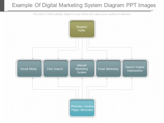 Example Of Digital Marketing System Diagram Ppt Images