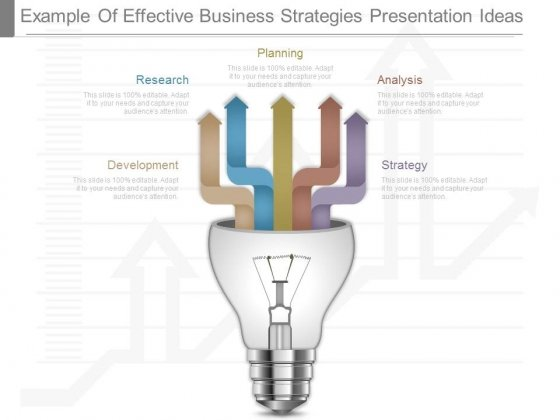 Example Of Effective Business Strategies Presentation Ideas