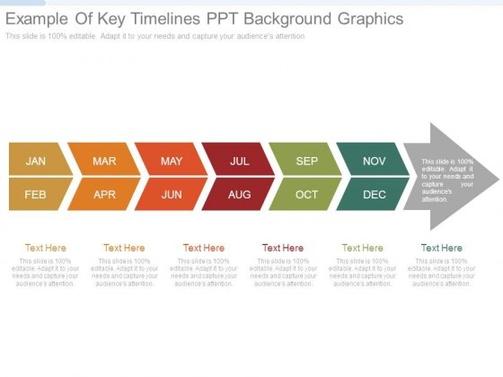Example Of Key Timelines Ppt Background Graphics