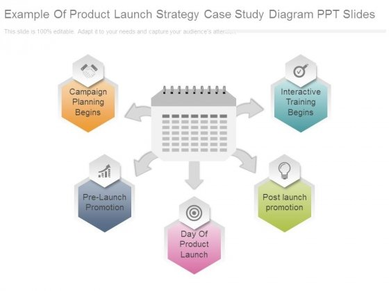 Example Of Product Launch Strategy Case Study Diagram Ppt Slides