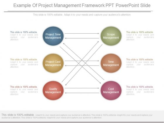 Example Of Project Management Framework Ppt Powerpoint Slide
