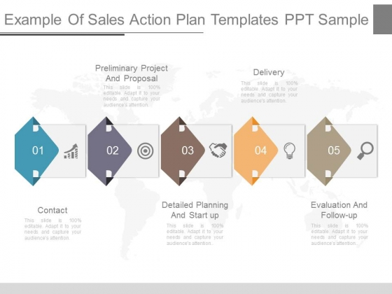 Example Of Sales Action Plan Templates Ppt Sample  Powerpoint Templates