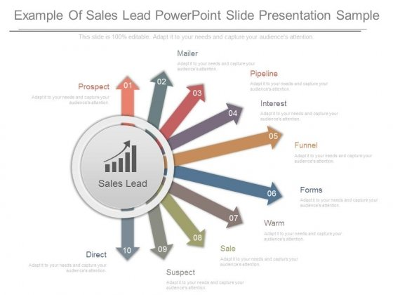 Example Of Sales Lead Powerpoint Slide Presentation Sample