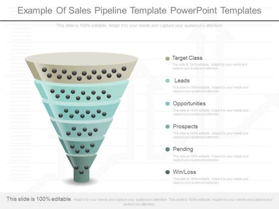 example of sales pipeline template powerpoint templates powerpoint