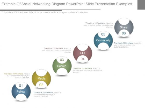 Example Of Social Networking Diagram Powerpoint Slide Presentation Examples