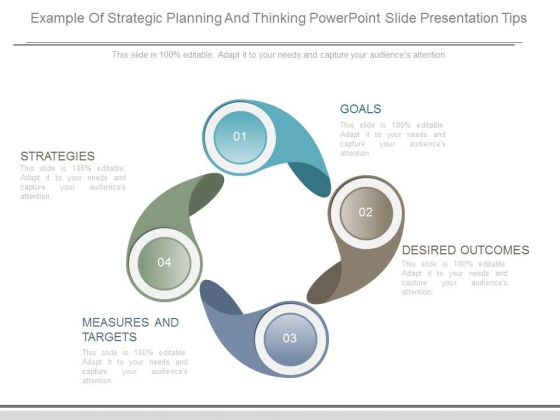 Example Of Strategic Planning And Thinking Powerpoint Slide Presentation Tips