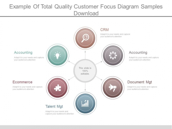 Example Of Total Quality Customer Focus Diagram Samples Download