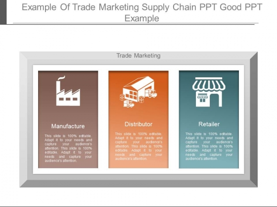 Example Of Trade Marketing Supply Chain Ppt Good Ppt Example