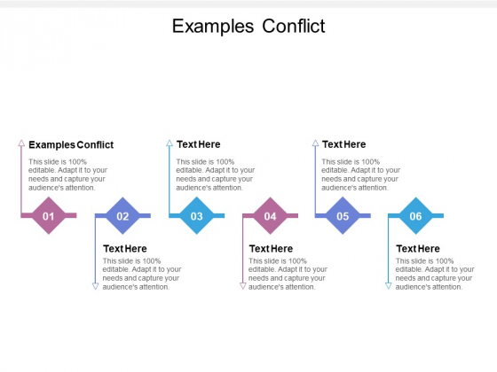 Examples Conflict Ppt PowerPoint Presentation Styles Show Cpb