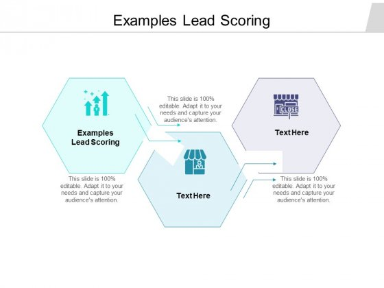 Examples Lead Scoring Ppt PowerPoint Presentation Model Rules Cpb Pdf