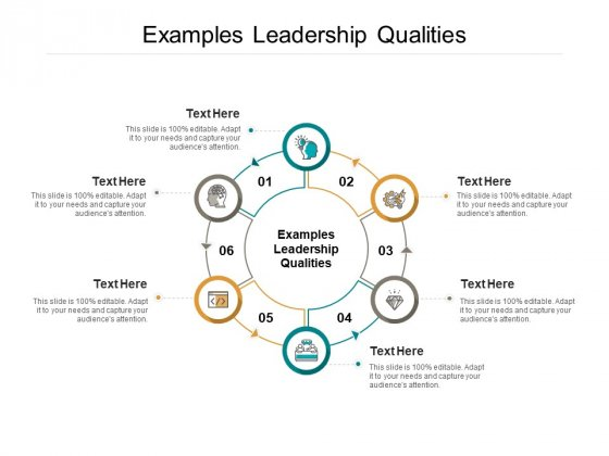 Examples Leadership Qualities Ppt PowerPoint Presentation File Examples Cpb