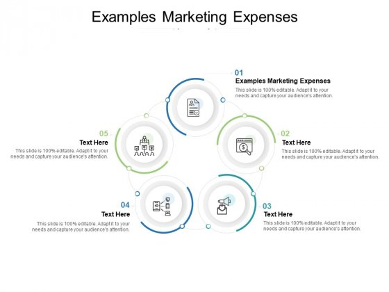Examples Marketing Expenses Ppt PowerPoint Presentation Pictures Example Introduction Cpb